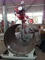 automático de fregadero de acero inoxidable pulido de la superficie de la máquina