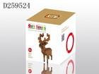 2015 New plastic educational building block toys shape deer for kids D259524