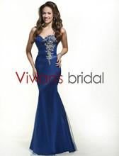 Fishtail Sweetheart Neckline Beaded Evening Dresses Online Shopping GS019