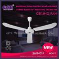 Nouvelle marque de fabrication industrielle ventilateur de plafond style de plafond ventilateur à faible bruit de ventilateur de plafond avec du ce cb hgk-t