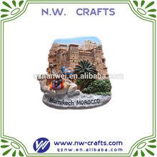 Marrakech Morocco souvenir fridge magnet