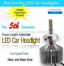 Super bright! h4 h7 9006 9007, 2 bulbs 4 LEDs h1 led headlight 3000lm 25w car led light