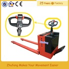 China mini semi electric pickup pallet truck for sale