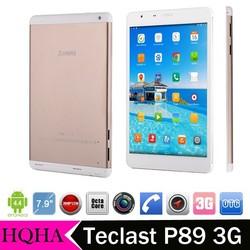 Teclast P89 3G tablets MTK8392 Octa Core Max 2GB/16GB WCDMA 2.0MP+5.0MP 7.9 Inch 2048*1536 Tablet PC