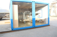 Convenient to change and build simple modular pre made container house