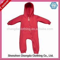 custom long sleeve baby bodysuit wholesale