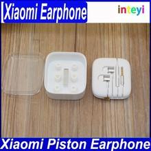 100%Original Gold XIAOMI 2nd Piston Earphone 2 II Headphone Headset Earbud with Remote & Mic For M3 MI2 MI2S MI2A Mi1S M1 Phones