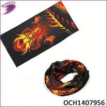 girl's fashionable plain bandana