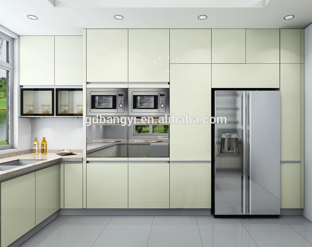 Nieuwe ontwerp 2015italië-stijl licht gele verf deur panelen ...