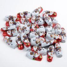 individually wrappered belgian animal shape chocolate