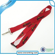 Gold supplier custom various one side print reflective promotion lanyard