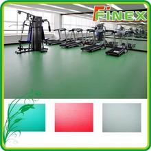 Indoor sports court vinyl flooring