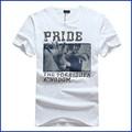 Chinês fabricantes de roupa de manga curta camisetas personalizadas impresso t-shirt dos homens