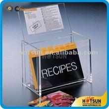 personalizzati acrilico trasparente casella biglietto da visita