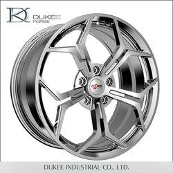 High quality DK06-209501 chrome aluminium alloy wheel rim