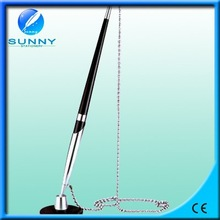 high quality cheap metal stand pen ,desk pen with rope