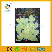 chirstmas night glow tape,self adhesive sticker paper,jelly glow in the dark fluorescent alphabet sticker
