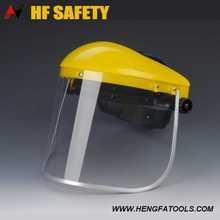 Industial Helmet Safety Face Shield ce fda glare free full face shield