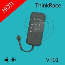China GPS Tracker tracking your car via SMS APP and PC web VT01 Thinkrace