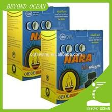 hookah shisha lump shape charcoal coco nara coal
