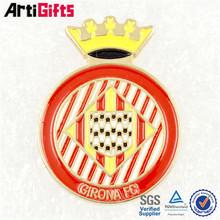 Wholesale custom metal shield shape hawk emblems