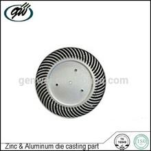 Die casting zinc alloy led lamp cover