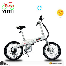 Foldable mountain electric hummer bicycle with 36V inside battery