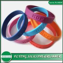 Folk Art Style silicone wristband