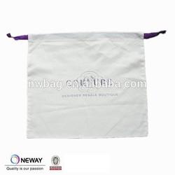 2015 China cotton drawstring shoe bags,small fabric drawstring bags,wholesale dust bag for handbag supplier