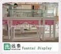 Personalizado dulce de color rosa quiosco de muebles para la joyería, reloj