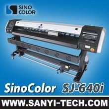 SJ-640i Economic Eco Solvent Printer for Flex Banner, Vinyl, Mesh, One Way Vision Printing
