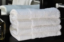 100%cotton white terry cloth face towel, hand towel
