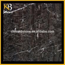 Polished Mistigue brown grey stone tile floor marble tiles