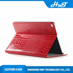 New Arrival Light Weight Corco Grain leather Case for iPad Air 2