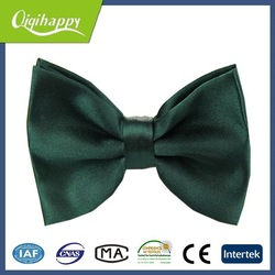 Hand made high quanilty dark green hot sale bow ties for dogs