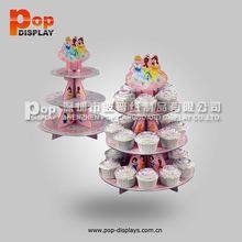pink spot cupcake stand