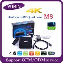 HD video tv box android box hd2 rk3288 mk m8 TV BOX 8GB NAND FLASH