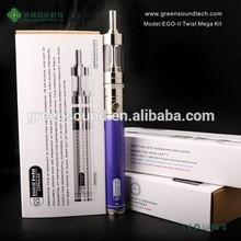 E-Cigar EGoII Twist 2200mah Vaporizer Big Battery E Cigarette Vaporizer Pen E-Cigar