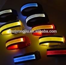 LED Flash Safety Reflective Strap Sports Wrist Belt