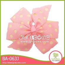 Fashion decoration small silk ribbon flowers