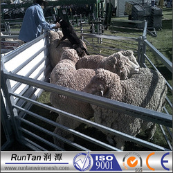 High quality sheep yard panels( factory ,ISO 9001 Certificate )