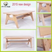 2015 new design demountable coffee table wood