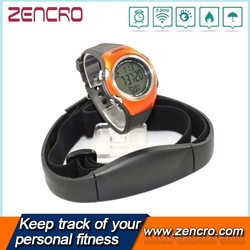 Sport calorie counter wireless heart rate monitor with chest strap