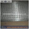 Más bajo precio galvanizado malla de alambre soldado panel de la cerca( fabricante)