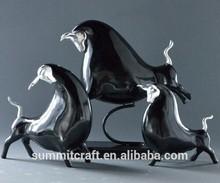 2015 Modern polishing resinhigh-quality buffalo figurine