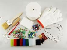 popular kiln fired glass for kiln glass artists making DIY jewelry Accessory