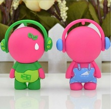 hot-selling cute 3D cool kids wearing headphones USB flash drive for Promotional Gift,USB Flash drives