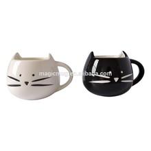 Color Changed Ceramic Lovely Cats Design Ceramic Mug