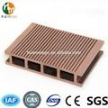 Rica madera wpc/de madera de plástico compuesto de la cubierta junta/wpc de fábrica en china