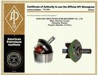 mud pump parts /mud pump valve assembly forNational JWS-400-C mud pump